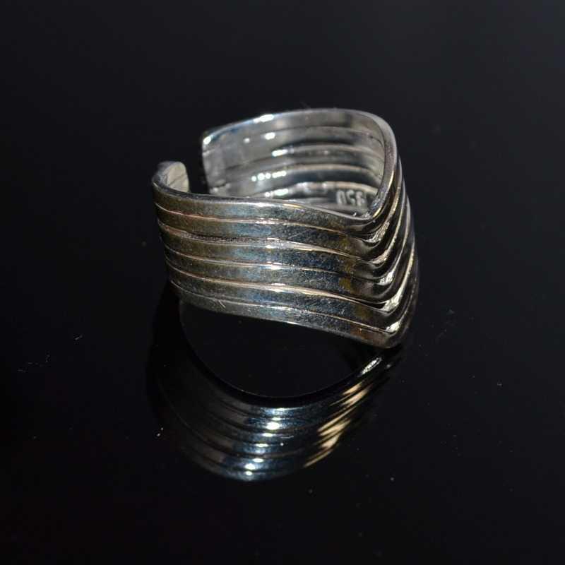 Zilveren ring 6007