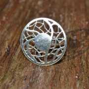 Zilveren ring Mandala I 2
