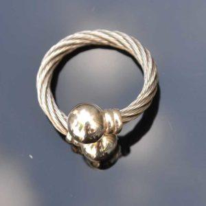 Zilveren ring Hypnose