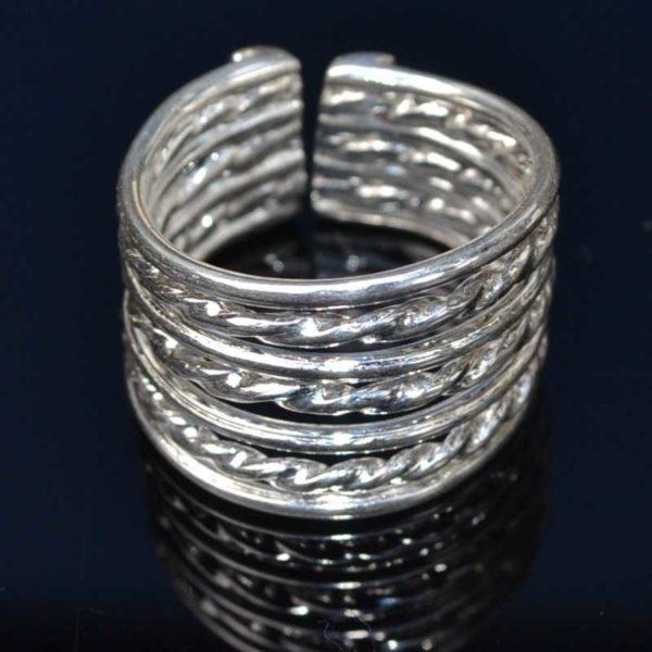 Zilveren ring 6001