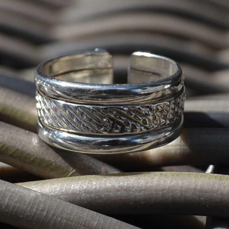 Zilveren ring Uno