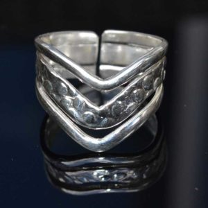 Zilveren ring Wonder