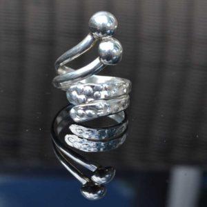 Zilveren ring Maya