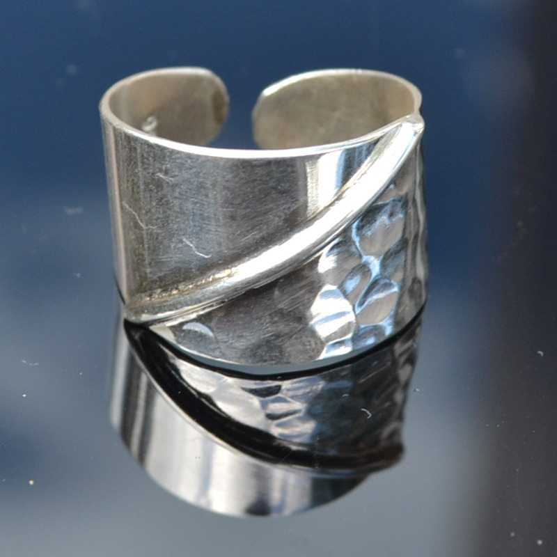 Zilveren ring Blas