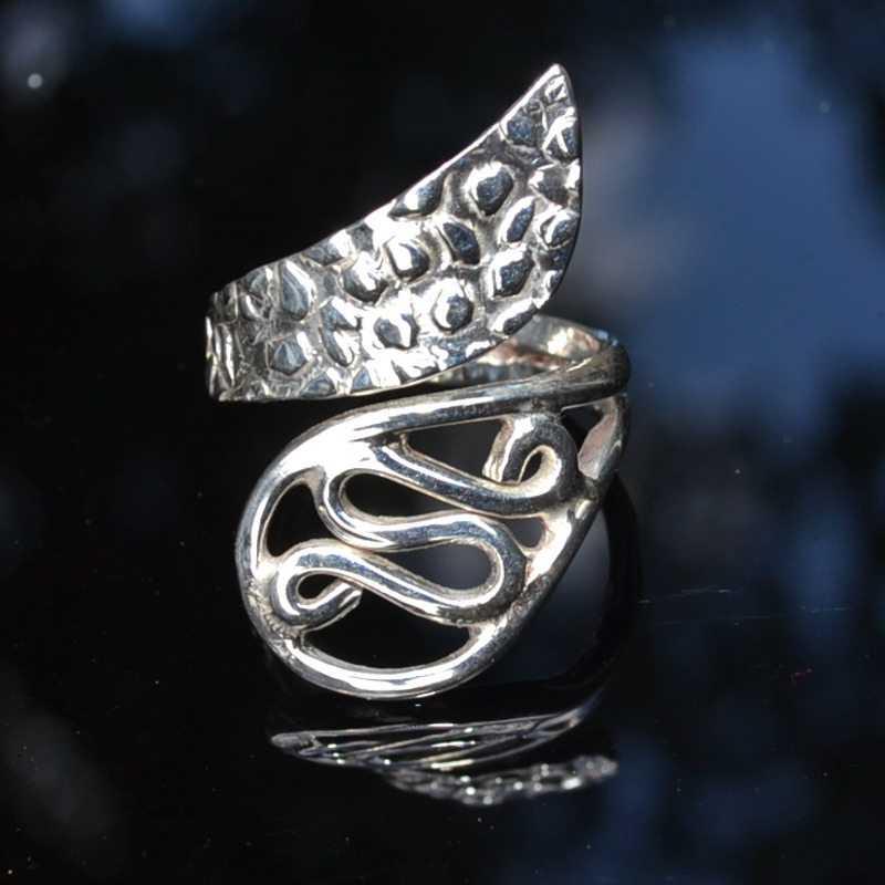Zilveren ring 6003