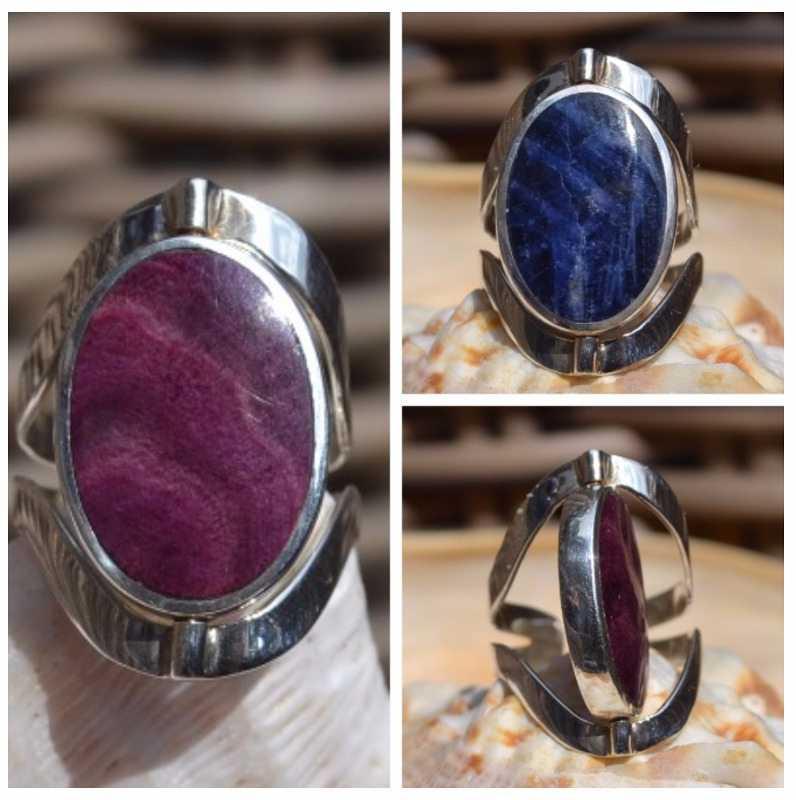 Zilveren ring Viena