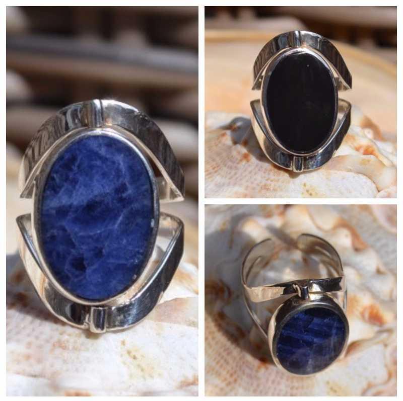 Zilveren ring Gala