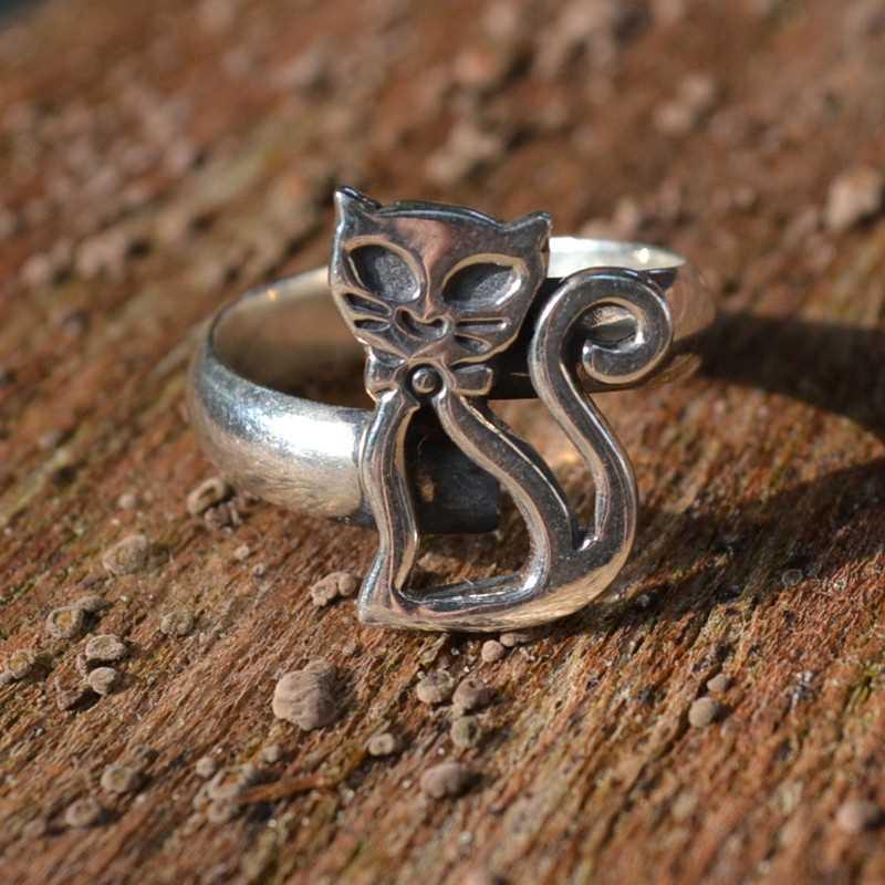 Zilveren ring Kat I