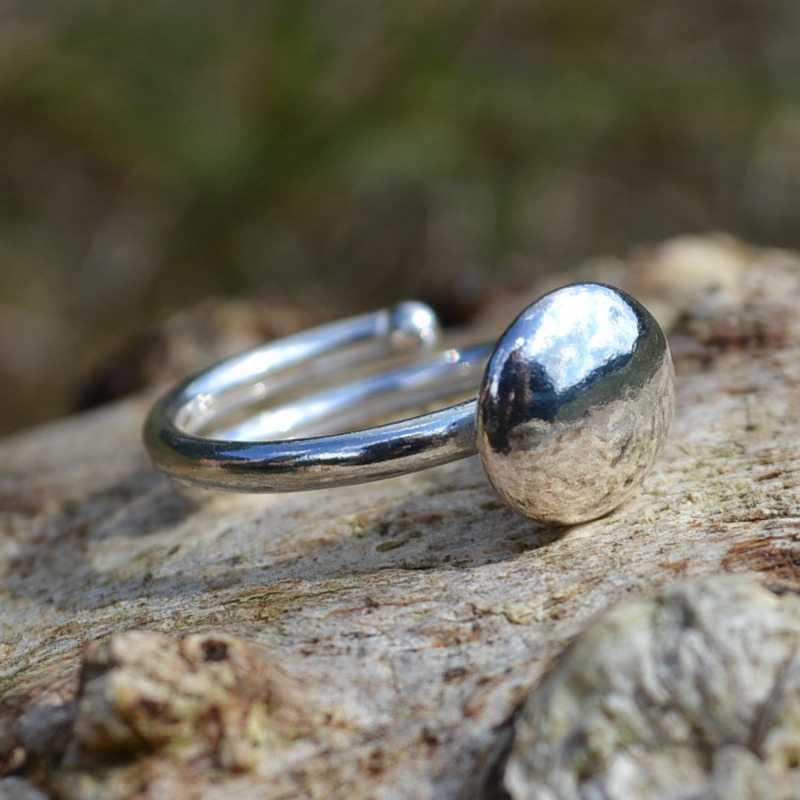 Zilveren ring 6006