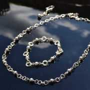 Zilveren set Femme