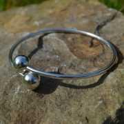 Zilveren klemarmband 2