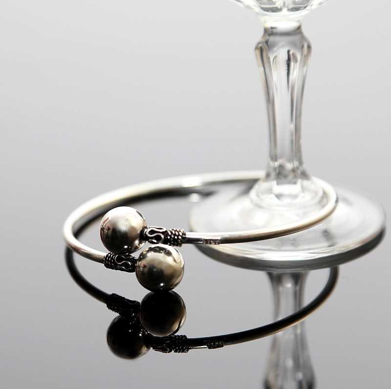 Zilveren spang armband II